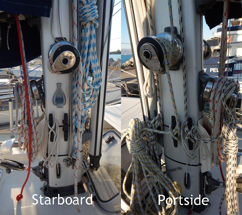 Mast arrangement